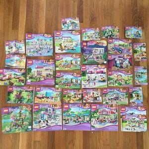 Lego Other - LEGO Friends Collection Bundle